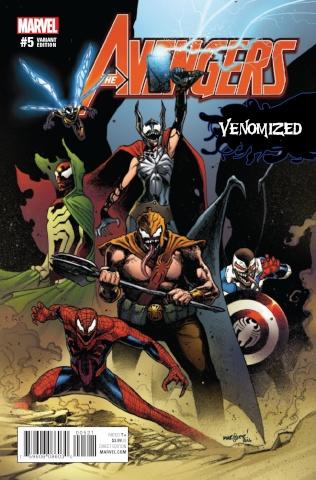 Avengers #5 (Marquez Venomized Cover)