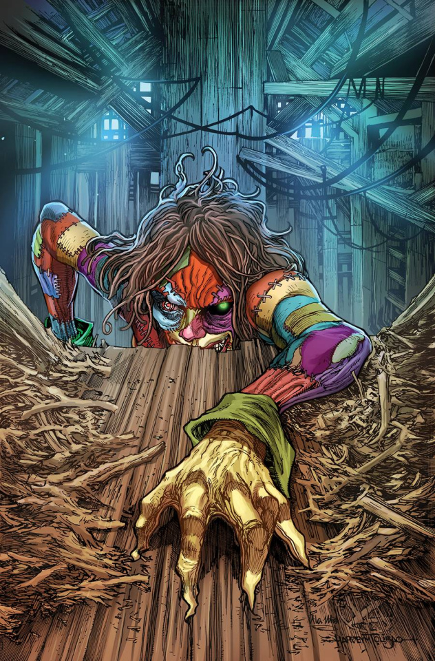 Oz Annual Patchwork Girl #1 (Tolibao Cover)