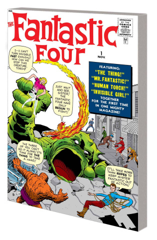 Fantastic Four Vol. 1: Greatest Heroes (Mighty Marvel Masterworks)