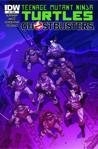 Teenage Mutant Ninja Turtles / Ghostbusters #2 (2nd Printing)