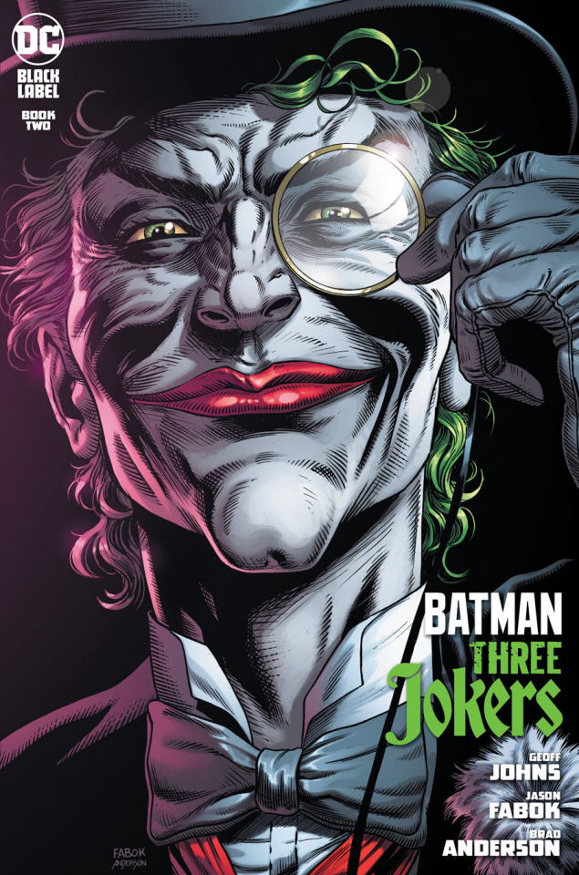 Batman: Three Jokers #2 (Death in the Family Top Hat & Monocle Cover)
