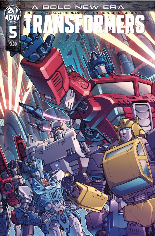 The Transformers #5 (Griffith Cover)