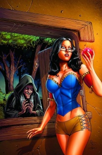 Grimm Fairy Tales #71 (Spay Cover)