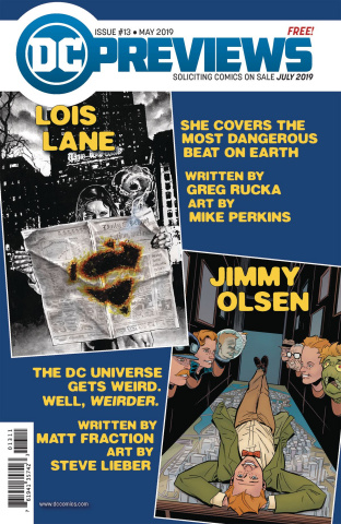 DC Previews #15: July 2019 Extras