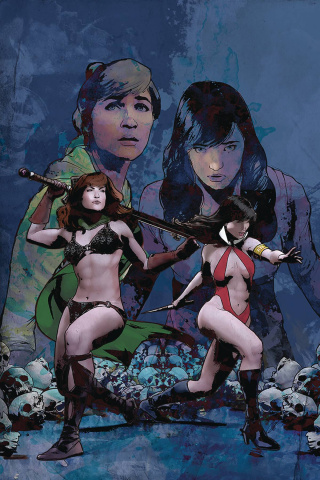 Red Sonja and Vampirella Meet Betty and Veronica #11 (Staggs Virgin Cover)