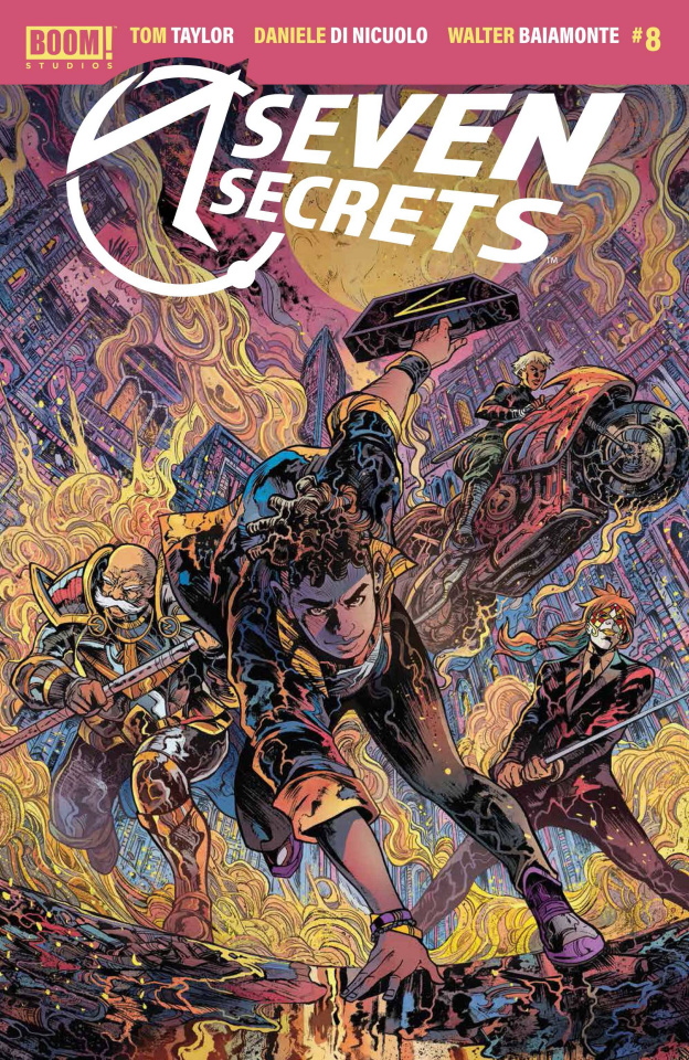 Seven Secrets #8 (Riccardi Cover)