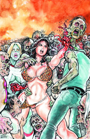 Cavewoman: The Zombie Situation #2 (Cover A)