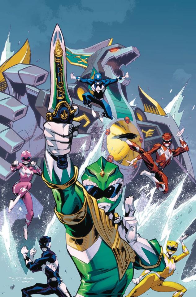 Mighty Morphin' Power Rangers #7 (50 Copy Randolph Cover)