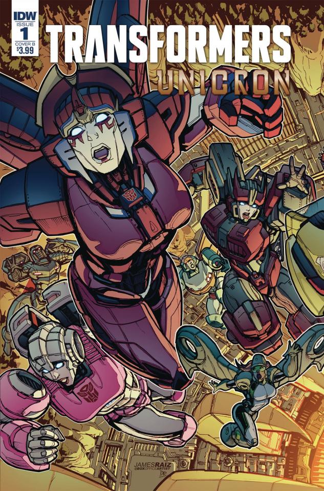 The Transformers: Unicron #1 (Raiz Cover)