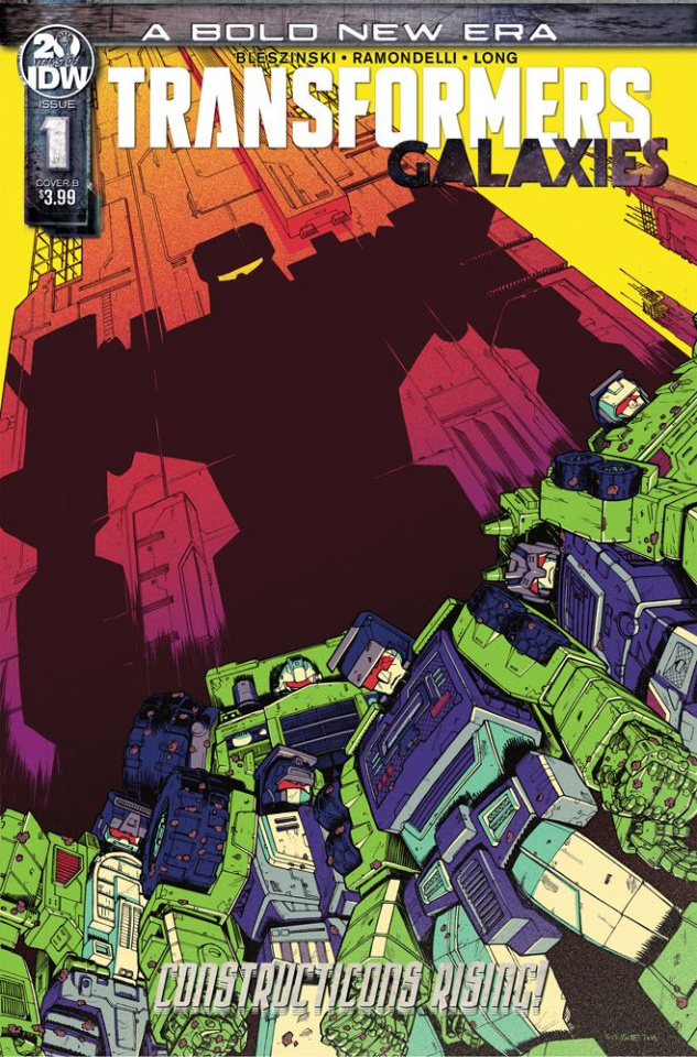 The Transformers: Galaxies #1 (Roche Cover)
