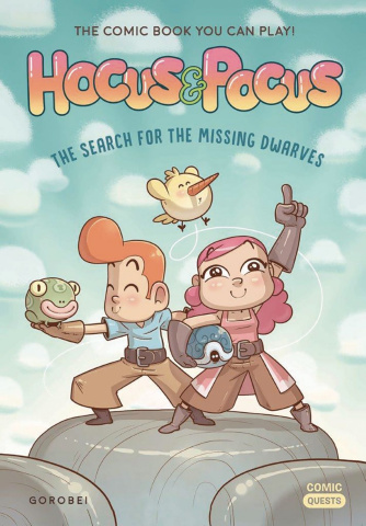 Comic Quests Vol. 3: Hocus & Pocus - The Search for the Missing Dwarves