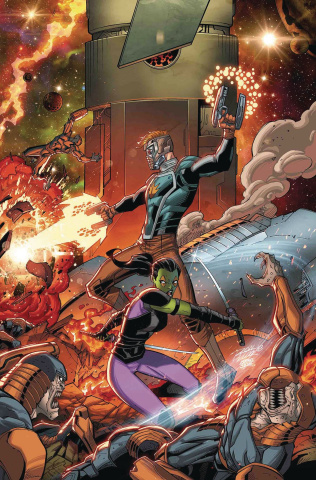 Infinity Wars #3 (Lim Cover)