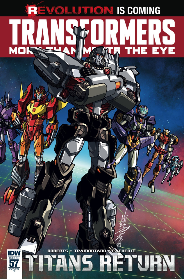 The Transformers: More Than Meets the Eye #57 (10 Copy Cover)