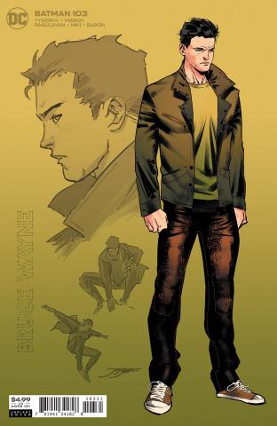 Batman #103 (1:25 Jorge Jimenez Bruce Wayne Card Stock Cover)