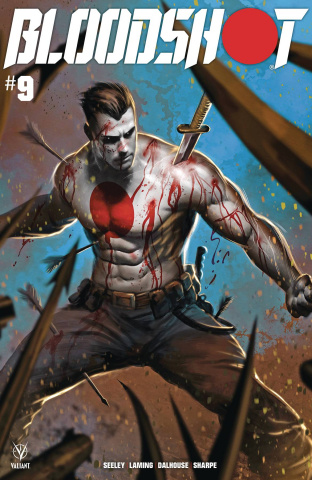 Bloodshot #9 (Kirkham Cover)