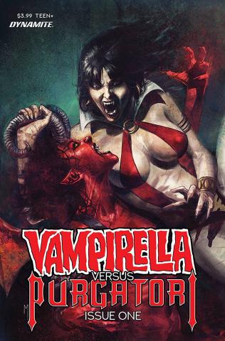 Vampirella vs. Purgatori #1 (Mastrazzo Cover)