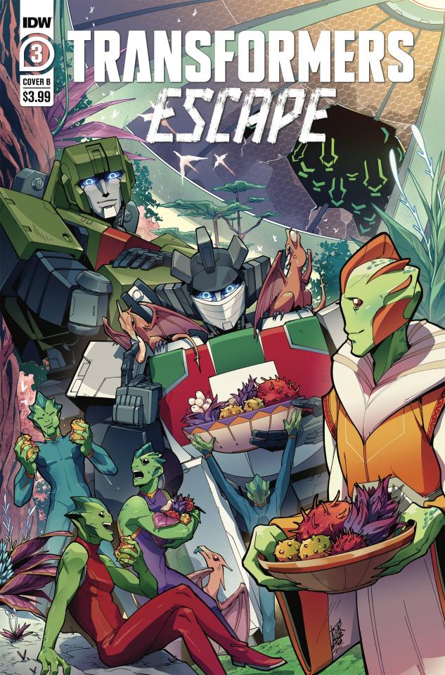 Transformers: Escape #3 (Umi Miyan Cover)