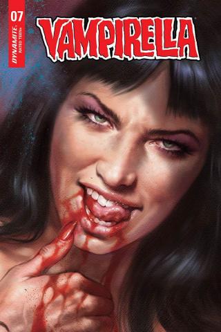 Vampirella #7 (25 Copy Parrillo Vamp #8 Sneak Peek Cover)