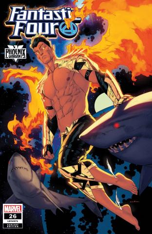 Fantastic Four #26 (Anka Namor Phoenix Cover)