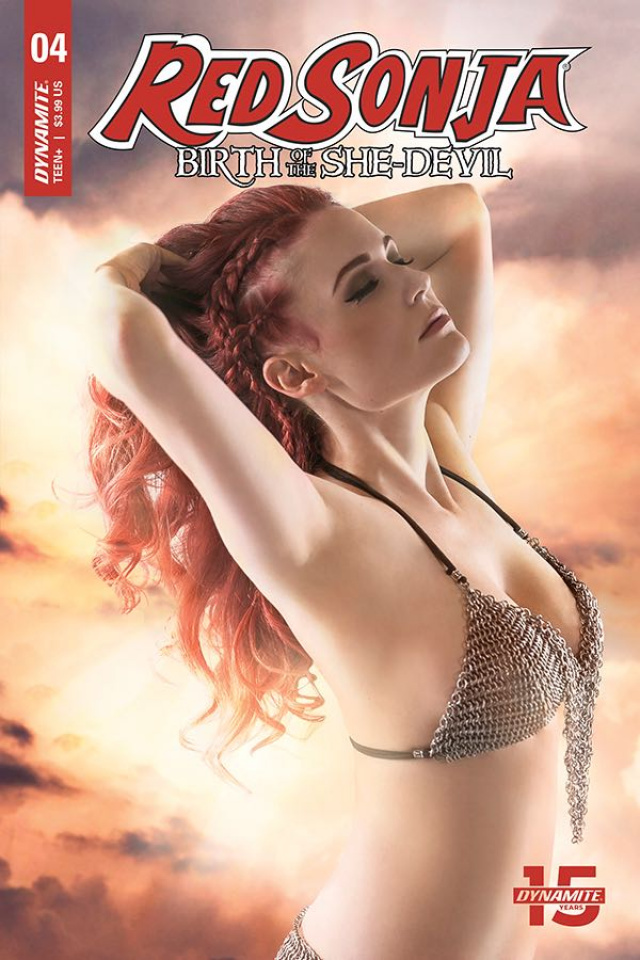 Red Sonja: Birth of the She-Devil #4 (Cosplay Cover)