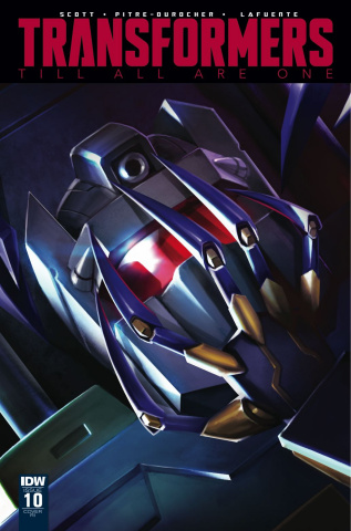 The Transformers: Till All Are One #10 (10 Copy Cover)