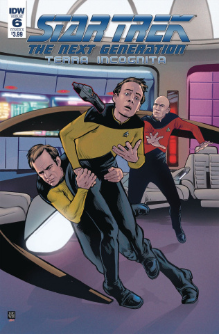 Star Trek: The Next Generation - Terra Incognita #6 (Shasteen Cover)