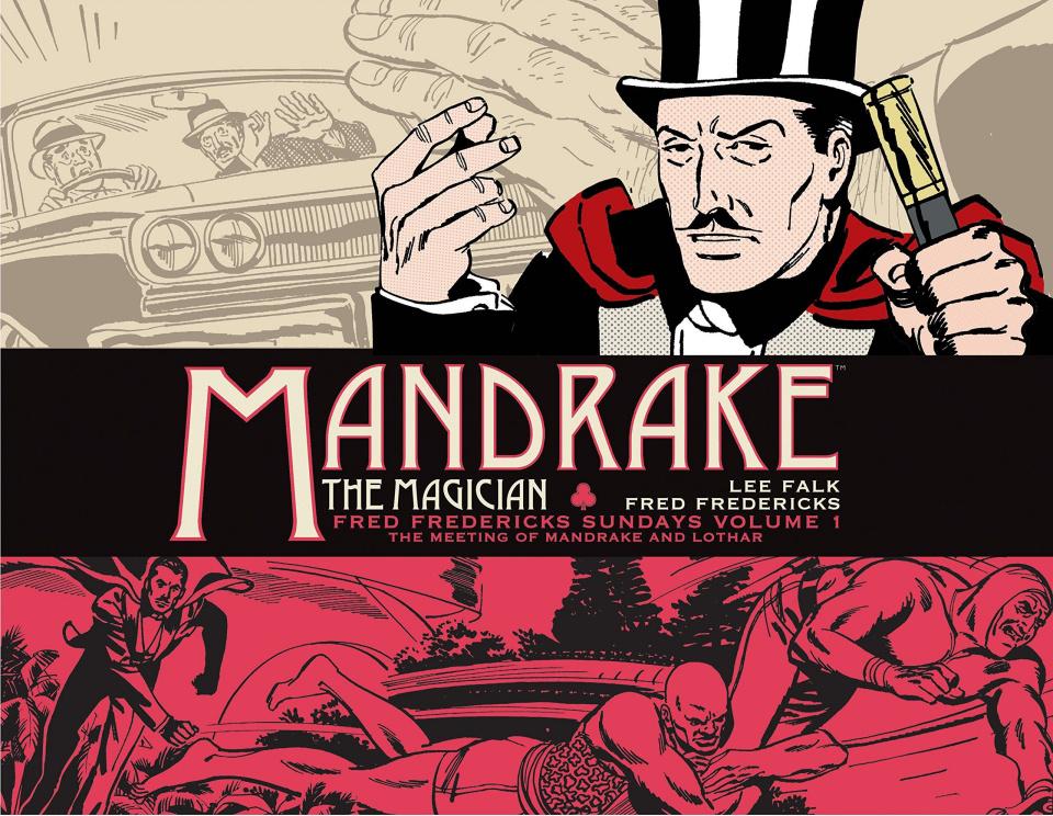Mandrake, The Magician: Fred Fredericks Sundays Vol. 1