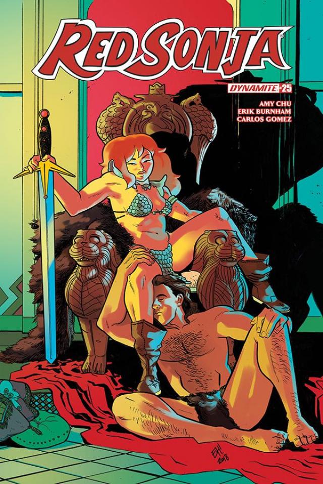 Red Sonja #25 (Henderson Cover)