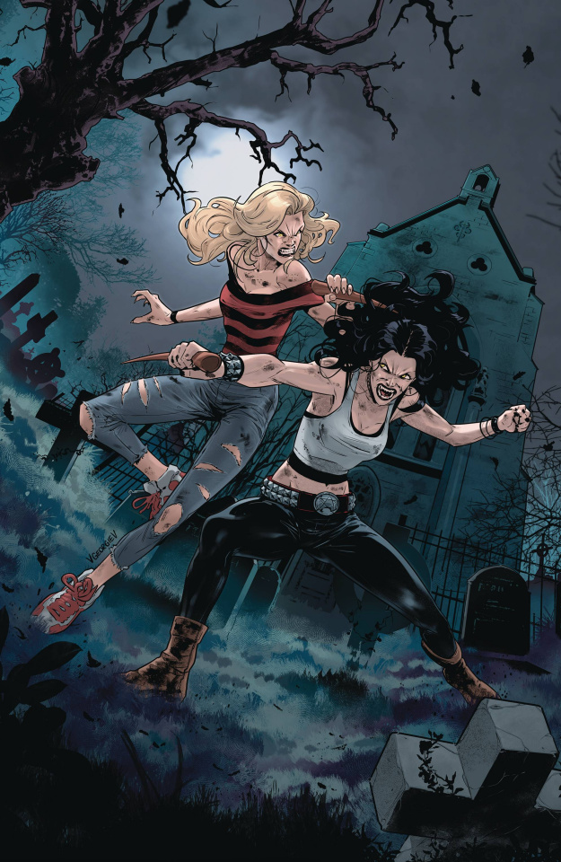Buffy the Vampire Slayer #30 (Unlockable Georgiev Cover)