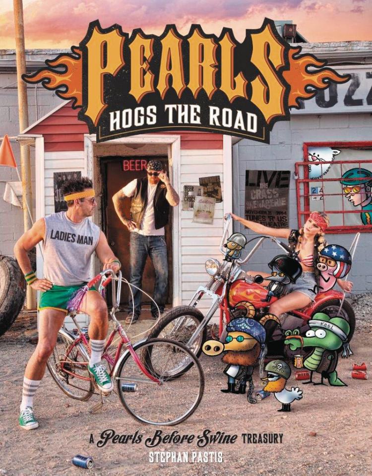 Pearls Before Swine: Pearls Hogs the Road