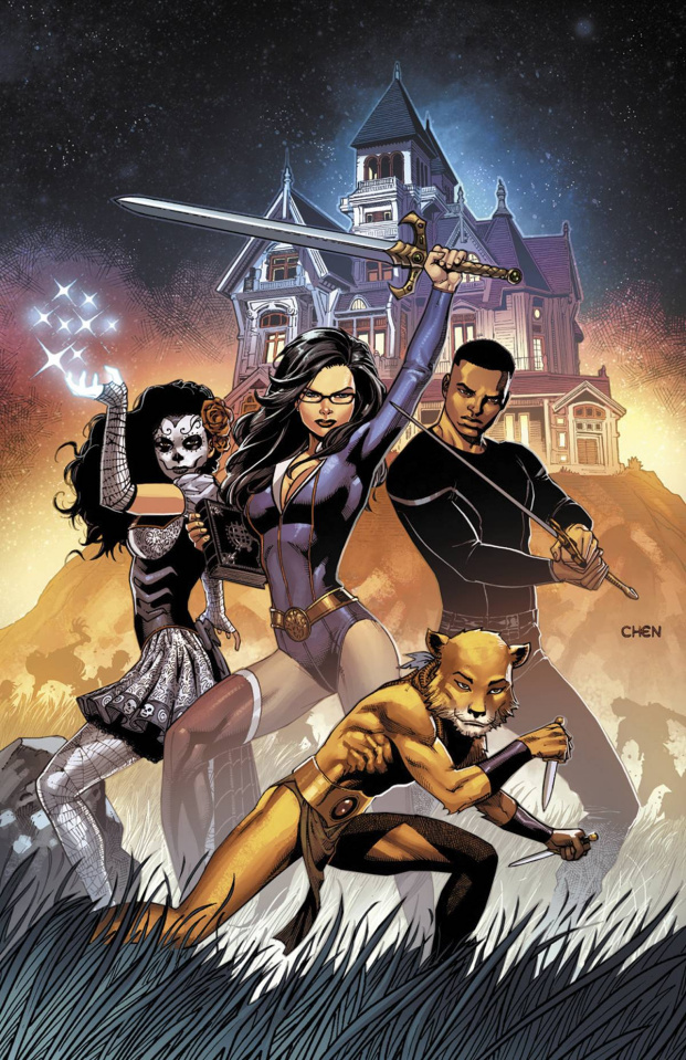 Grimm Fairy Tales #113 (Chen Cover)