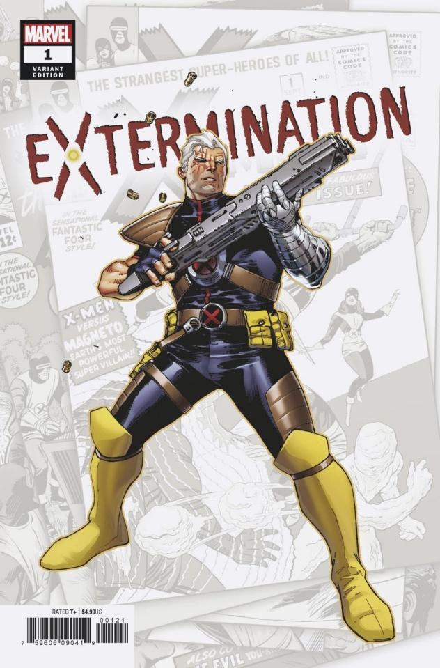 Extermination #1 (Coipel Cover)
