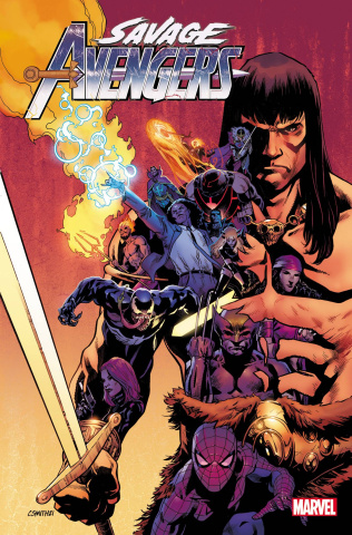 Savage Avengers #25 (Smith Cover)
