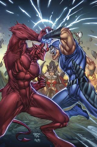 Grimm Fairy Tales: Realm War #8 (Pantalena Cover)