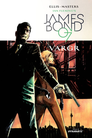 James Bond #2 (20 Copy Hardman Unique Cover)