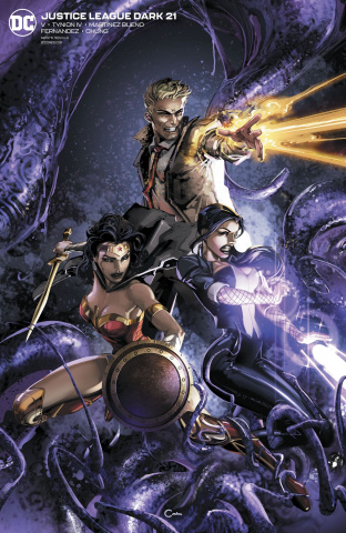 Justice League Dark #21 (Clayton Crain Cover)