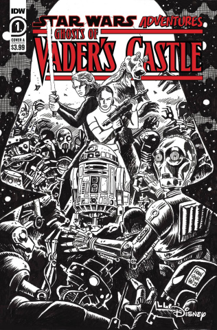 Star Wars Adventures: Ghosts of Vader's Castle #1 (10 Copy Cover)