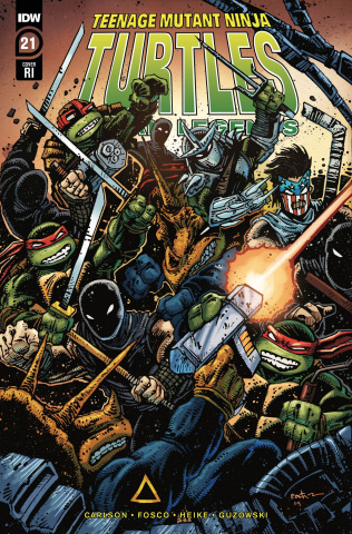 Teenage Mutant Ninja Turtles: Urban Legends #21 (10 Copy Eastman Cover)