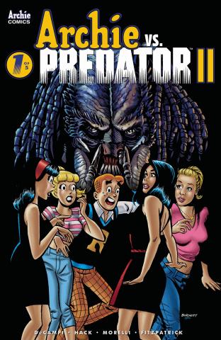 Archie vs. Predator II #1 (Burchett Cover)