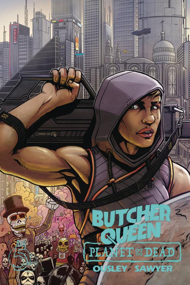 Butcher Queen: Planet of the Dead #1 (Ben Sawyer Cover)
