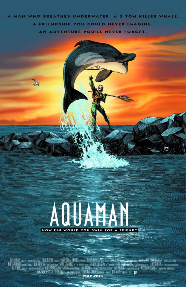 Aquaman #40 (Movie Poster Cover)