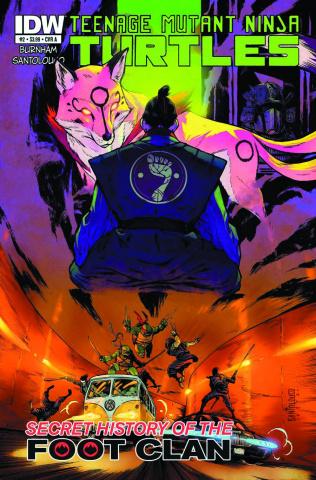 Teenage Mutant Ninja Turtles: The Secret History of the Foot Clan #2 (2nd Printing)
