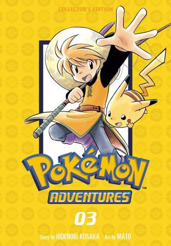 Pokémon Adventures Vol. 3 (Collectors Edition)