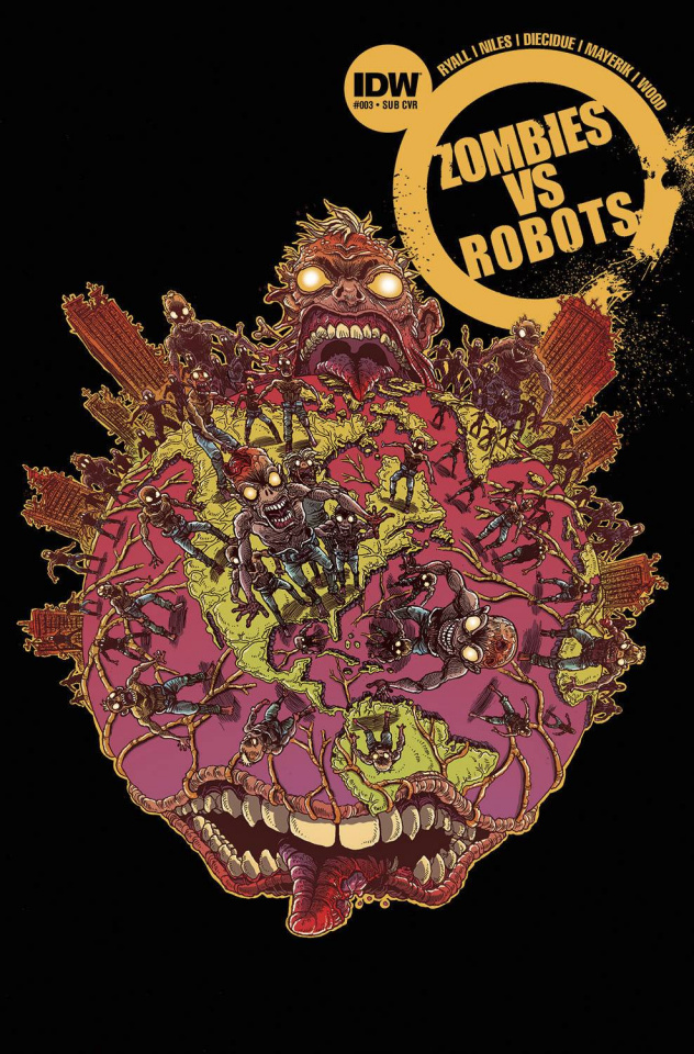 Zombies vs. Robots #3 (Subscription Cover)