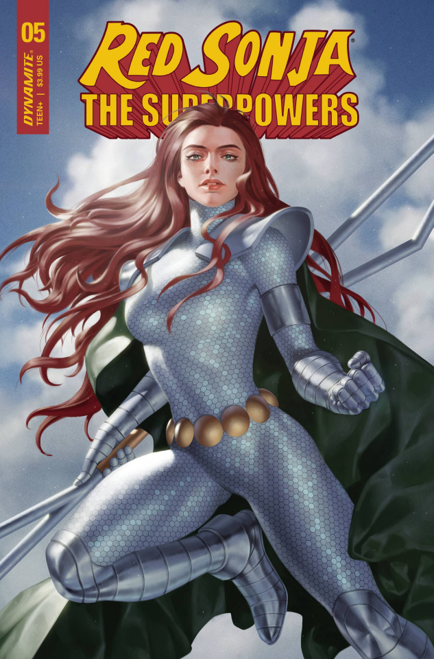Red Sonja: The Superpowers #5 (Yoon Cover)