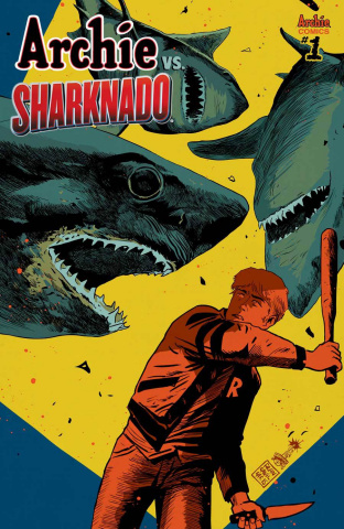 Archie vs. Sharknado (Francavilla Cover)