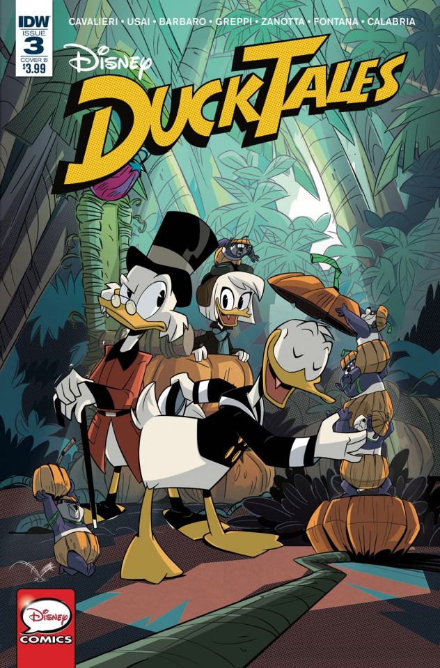 DuckTales #3 (Ghiglione Cover)