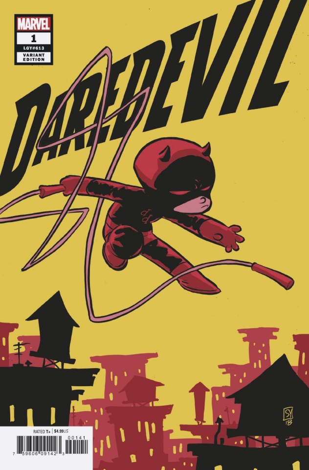 Daredevil #1 (Young Cover)