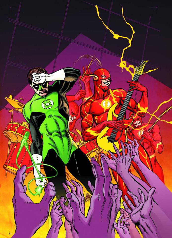 Green Lantern #38 (Flash Cover)