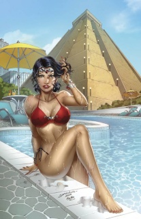 Grimm Fairy Tales: Realm War #6 (Luis Cover)